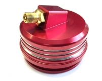 High-Volume Gas Cap - CRF450, rot