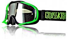 Crosskrank G2 MX-Brille schwarz grün