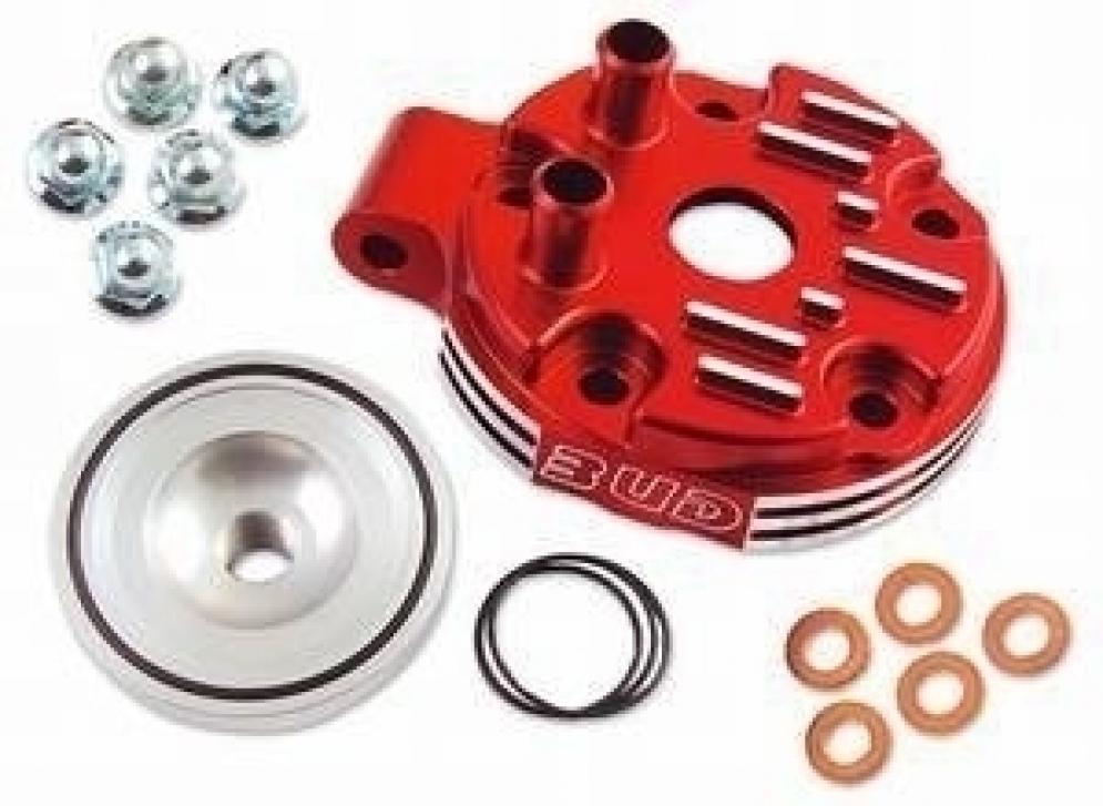 BUD Racing Zylinderkopf 2 Takt, inkl. Kalotte Ausführung=Honda CR125 (2000-2003) rot - ONeal Onlineshop Wolfgang Fleisch