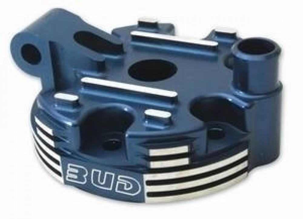 BUD Racing Zylinderkopf 2 Takt, inkl. Kalotte Ausführung=Yamaha YZ 144 (2005-) mit großer Klaotte|blau - BUD Racing Zylinderkopf 2 Takt, inkl. Kalotte Ausführung=Yamaha YZ 144 (2005-) mit großer Klaotte|blau
