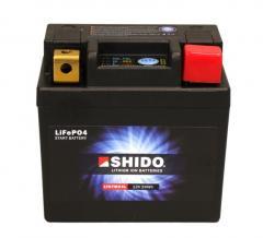 SHIDO LITHIUM ION BATTERIE, 2Ah, 12V, 0,5kg