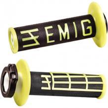 ODI Lock-On EMIG Schraub-Griffe 4T schwarz/gelb