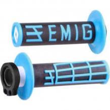 ODI Lock-On EMIG Schraub-Griffe 4T schwarz/blau