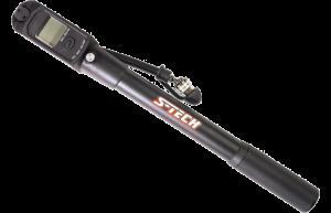 S-TECH 2-in-1-Luftpumpe für Fahrwerke und Reifen