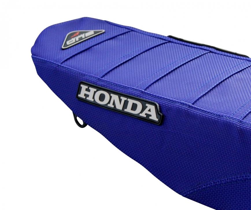 BUD Sitzbankbezug Full Traction - HONDA Ausführung=blau mit BUD-Logo - ONeal Onlineshop Wolfgang Fleisch