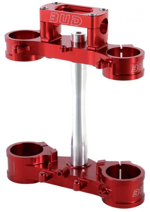 BUD Racing Gabelbrücke Honda Ausführung=CRF 250/450 (2009-2016) 20mm Offset rot - ONeal Onlineshop Wolfgang Fleisch