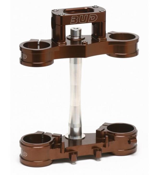 BUD Racing Gabelbrücke Suzuki Ausführung=RM125/250 (01-08),RMZ250 (07-08)23mm Offset braun - ONeal Onlineshop Wolfgang Fleisch