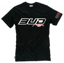 BUD RACING T-Shirt Logo-tee schwarz