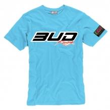BUD RACING T-Shirt Logo-tee blau