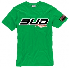 BUD RACING T-Shirt Logo-tee grün