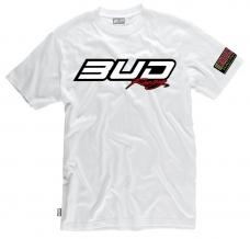 BUD RACING T-Shirt Logo-tee weiß