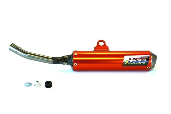 HGS Endschalldämpfer SX125 Orange (2016-)