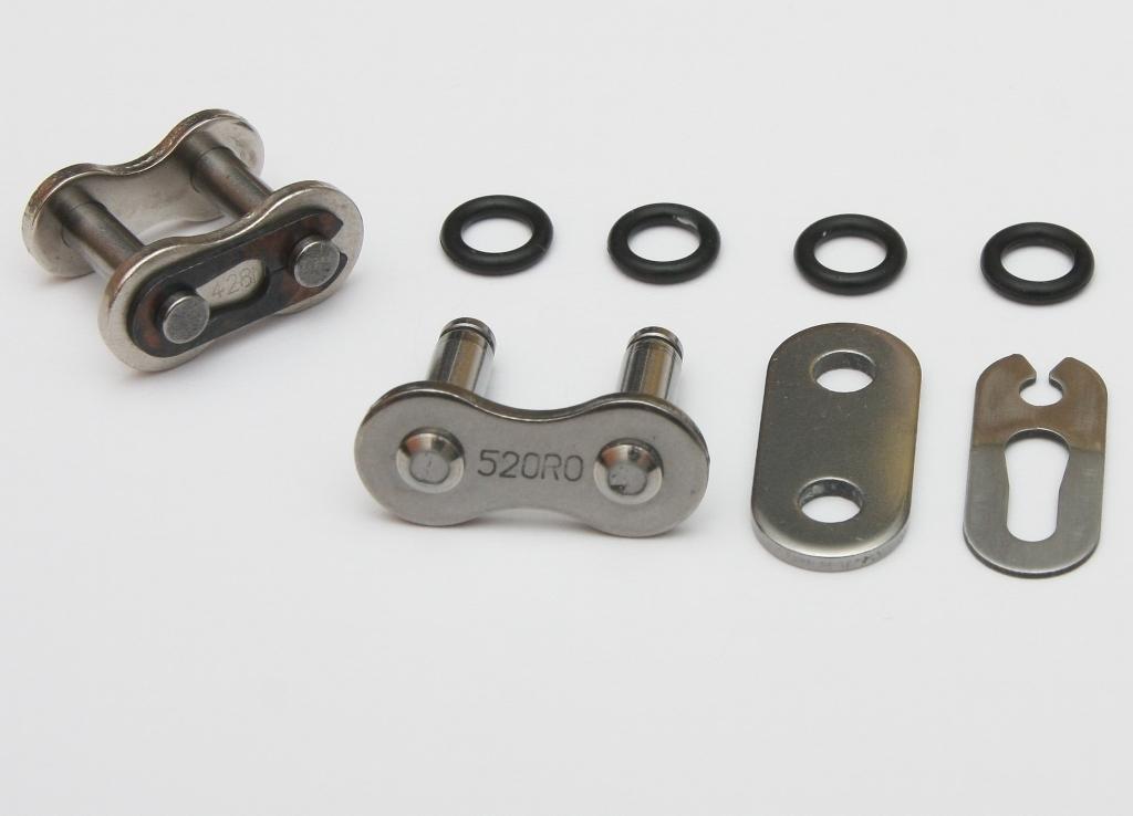 S-TECH Ketten-Clipschloß 520 HRT, ORANGE - MX-Special-Parts Onlineshop für MX Motocross Enduro Sport