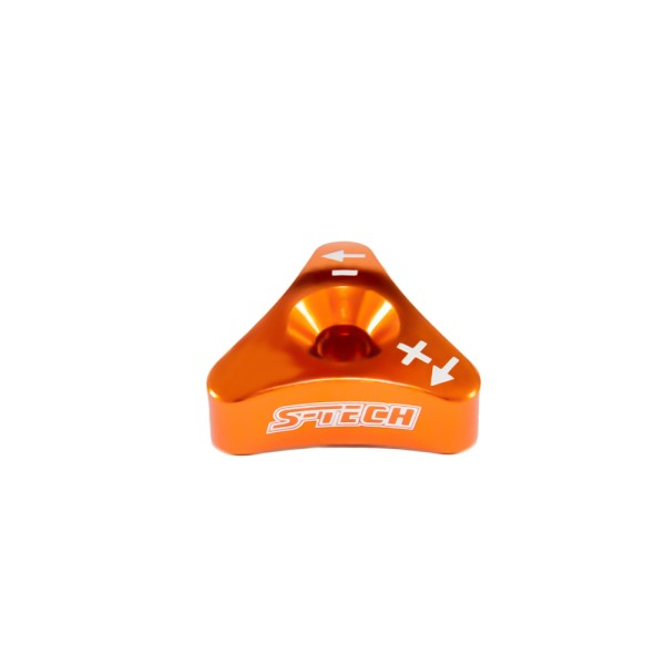 S-TECH FACTORY DRUCKSTUFENADJUSTER WP ORANGE