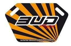 Pitboard Bud Racing incl.Stift schwarz/orange - MX-Special-Parts Onlineshop für MX Motocross Enduro Sport