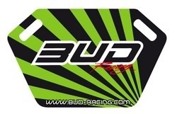 Pitboard Bud Racing incl.Stift schwarz/grün - MX-Special-Parts Onlineshop für MX Motocross Enduro Sport