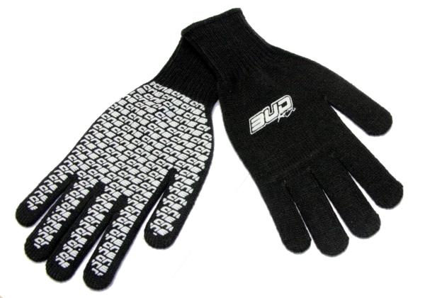 BUD RACING Mechaniker Handschuhe schwarz