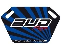 Pitboard Bud Racing incl.Stift schwarz/blau - MX-Special-Parts Onlineshop für MX Motocross Enduro Sport