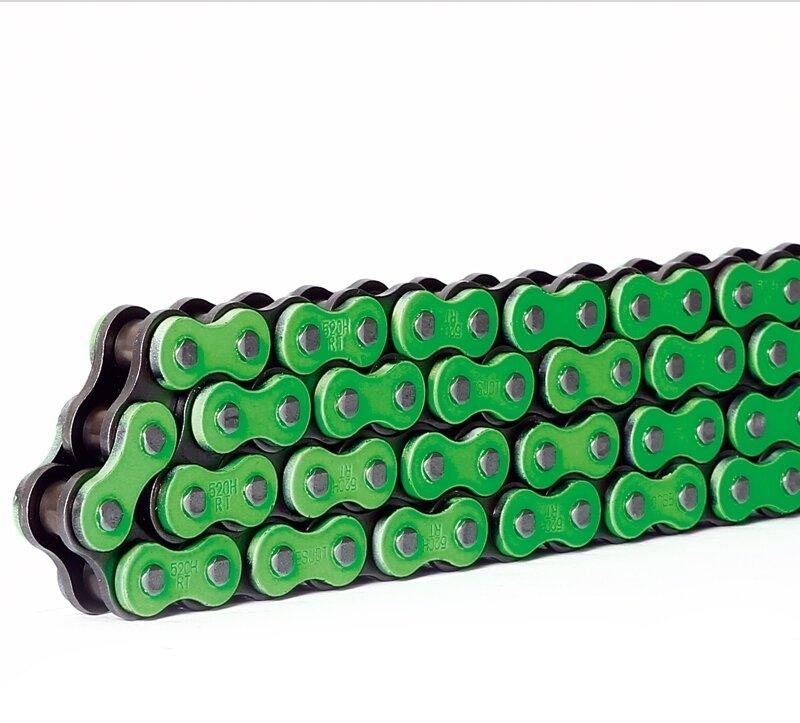 S-TECH KETTE 520HRT super verstärkt grün 118G - MX-Special-Parts Onlineshop für MX Motocross Enduro Sport