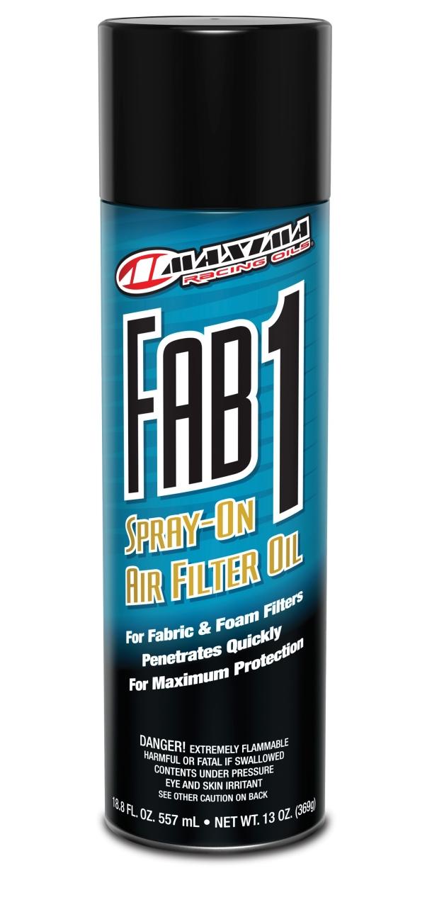 Maxima FAB 1 - Luftfilteröl (Spray) - MX-Special-Parts Onlineshop für MX Motocross Enduro Sport