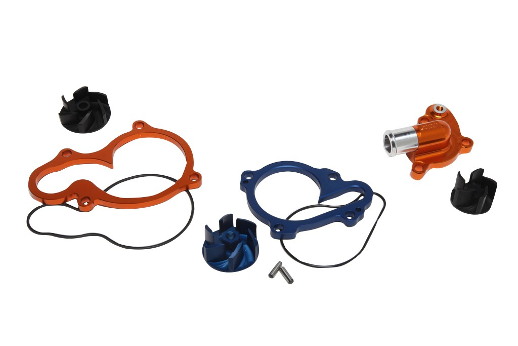 Wasserpumpenkit KTM SX50/65 (2009-), blau - MX-Special-Parts Onlineshop für MX Motocross Enduro Sport