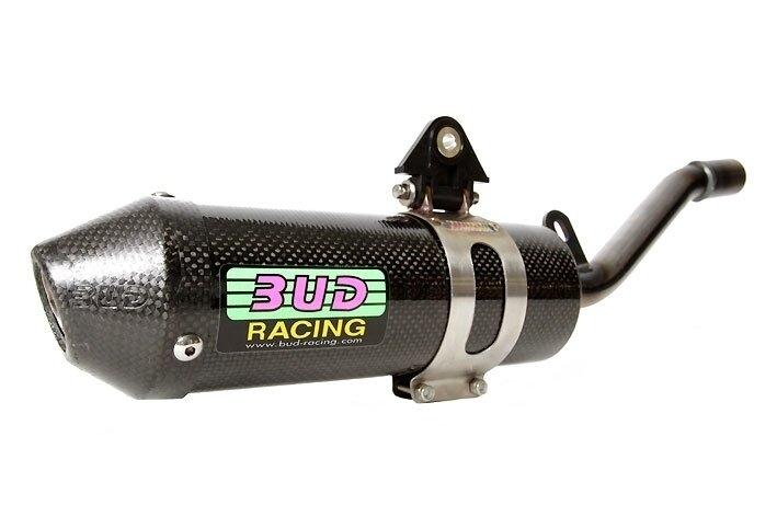BUD Carbon Endschalldämpfer Suzuki RM 125 (2001-) - MX-Special-Parts Onlineshop für MX Motocross Enduro Sport