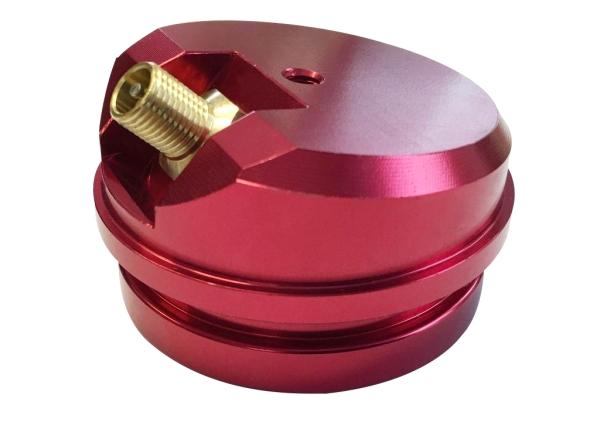 High-Volume Gas Cap - KXF450/WR450, rot