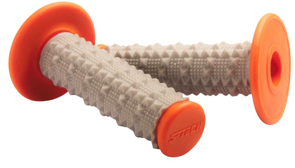 S-TECH Griffe Rebound Tech - Dual Compound, orange - MX-Special-Parts Onlineshop für MX Motocross Enduro Sport