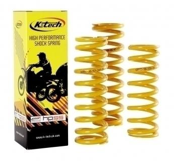 Stoßdämpferfeder 55/58-195, 100 N/mm