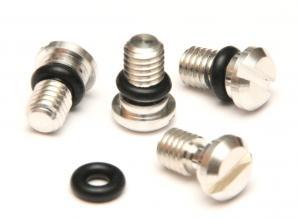 Gabel-Entlüftungsschraube KYB/SHOWA M5 inkl.O-Ring