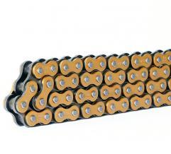 S-TECH KETTE 520HRT super verstärkt gold 118G