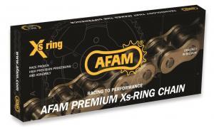 AFAM OFFROAD-KETTE 520XXR2-G, XS-RING, 118L, GOLD