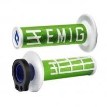 ODI Lock-On EMIG Schraub-Griffe 4T grün/weiß