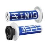 ODI Lock-On EMIG Schraub-Griffe 4T blau/weiß