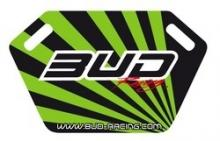Pitboard Bud Racing incl.Stift schwarz/grün