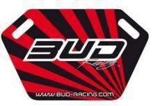 Pitboard Bud Racing incl.Stift schwarz/rot