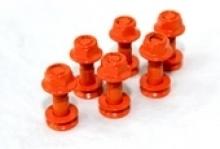 Kettenradschrauben-Satz orange