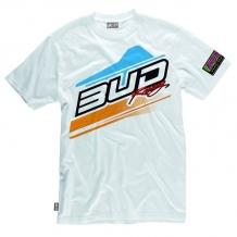 BUD RACING T-Shirt Jump weiß